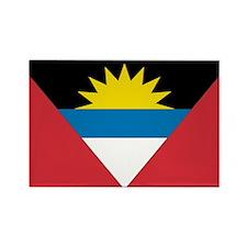 Antigua & Barbuda Rectangle Magnet