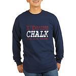Wearing Chalk Long Sleeve Dark T-Shirt