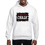 Wearing Chalk Hooded Sweatshirt