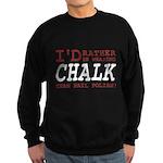 Wearing Chalk Sweatshirt (dark)