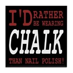 Wearing Chalk Tile Coaster