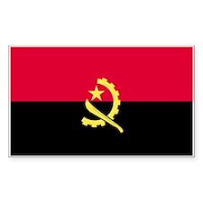 Angola Rectangle Decal
