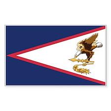 American Samoa Rectangle Decal