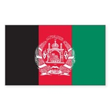 Afghanistan Rectangle Decal