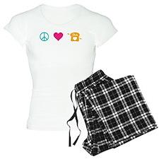 HG Peace Love Peeta Pajamas
