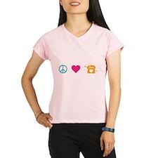 HG Peace Love Peeta Performance Dry T-Shirt