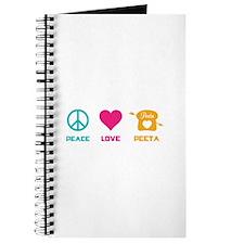 HG Peace Love Peeta Journal