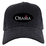 Obama Baseball Cap with Patch