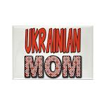 Ukr. Mom Red Rectangle Magnet