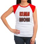 Ukr. Mom Red Women's Cap Sleeve T-Shirt