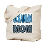 Ukr. Mom Blue Tote Bag