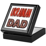 Ukr. Dad Red Keepsake Box