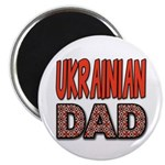 "Ukr. Dad Red 2.25"" Magnet (10 pack)"