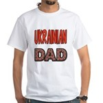 Ukr. Dad Red White T-Shirt