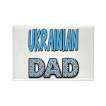 Ukr. Dad Blue Rectangle Magnet (10 pack)