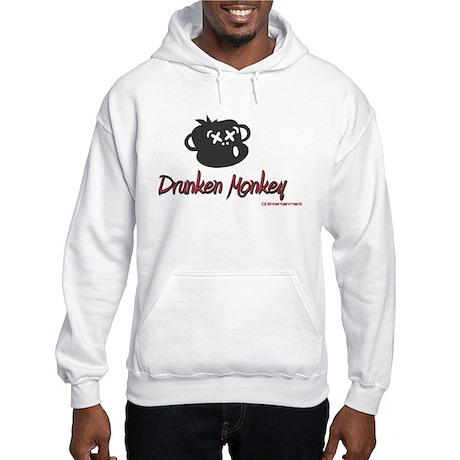 Drunken Monkey Dj Hooded Sweatshirt
