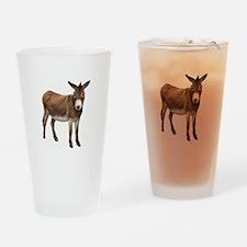 Donkey Drinking Glass