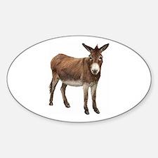 Donkey Sticker (Oval)