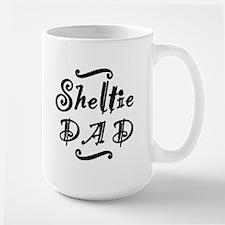 Sheltie DAD Mug