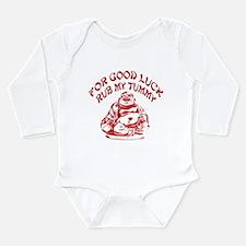Good Luck Buddha Long Sleeve Infant Bodysuit
