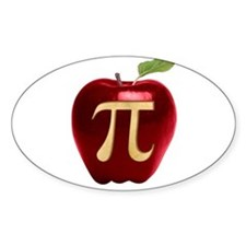 Apple Pi Decal