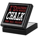 Wearing Chalk Keepsake Box