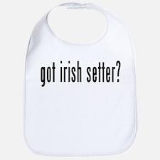 GOT IRISH SETTER Bib