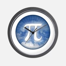 Pi in the Sky Wall Clock