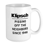 Pissing Off the Neighbors - Large Mug