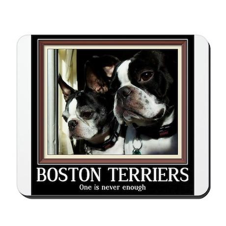 Double Boston Mousepad