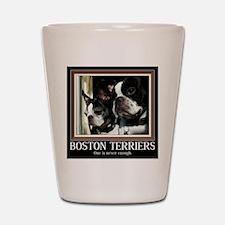 Double Boston Shot Glass