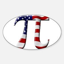 Unique Pi Sticker (Oval)