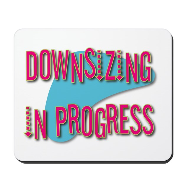 downsizing mousepad by lmhdesigns