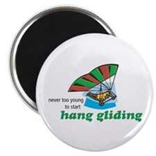 Never Too Young to Start Hang Gliding Magnet