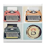 Typewriter Drink Coasters