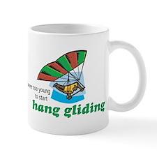 Never Too Young to Start Hang Gliding Mug
