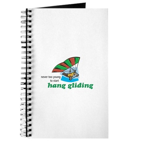 Never Too Young to Start Hang Gliding Journal