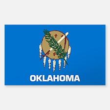Oklahoma Sticker (Rectangle)