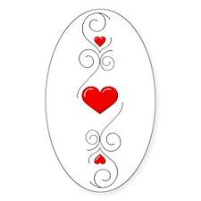 Heart Flourish 2t Decal