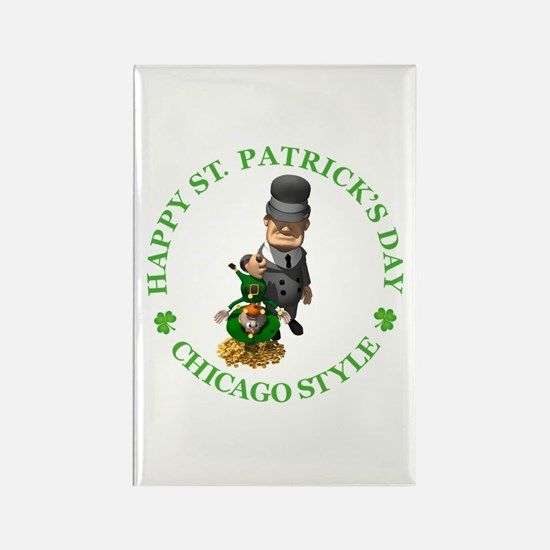 Happy St Patrick's Day Rectangle Magnet