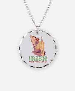 Irish - Proud To Be a Ginger Necklace