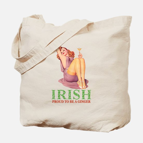Irish - Proud To Be a Ginger Tote Bag
