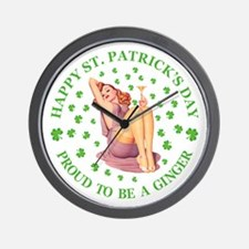 Proud To Be a Ginger Wall Clock