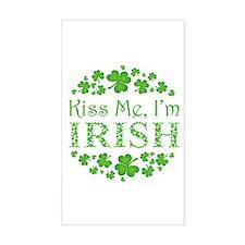 Kiss Me, I'm Irish Decal