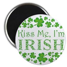 Kiss Me, I'm Irish Magnet