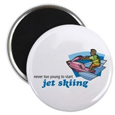 Never Too Young to Start Jet Skiing Magnet
