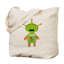 Color Bot Tote Bag