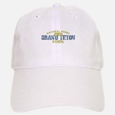 Grand Teton National Park Wyo Baseball Baseball Cap