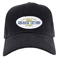Grand Teton National Park Wyo Baseball Cap