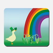 Lucky Duck! Mousepad